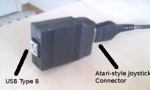 Atari to USB Adapter from Raphnet