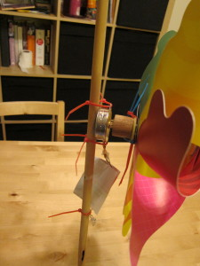 Toy Windmill with Generator