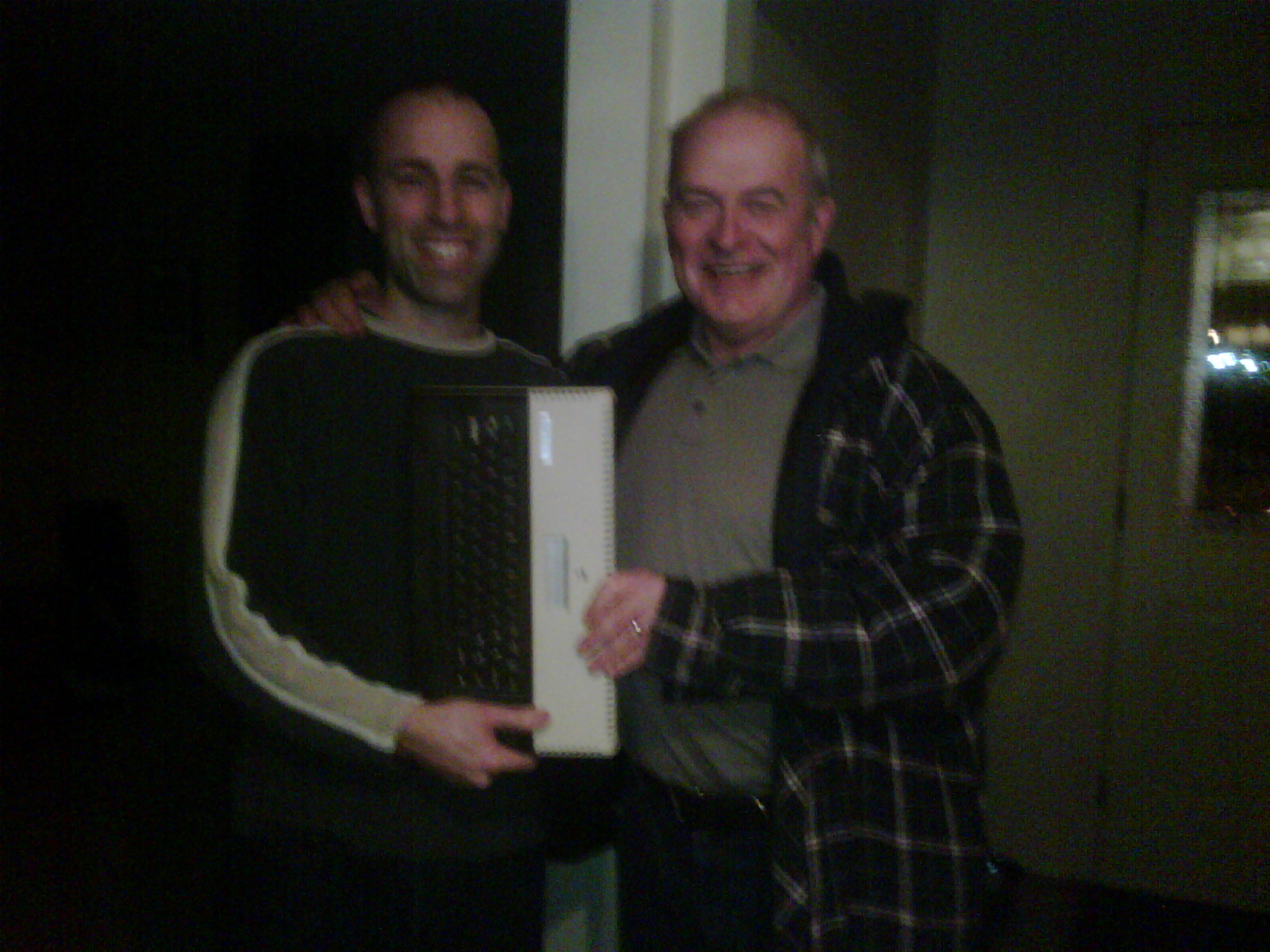 Receiving an Atari 800XL in 2011