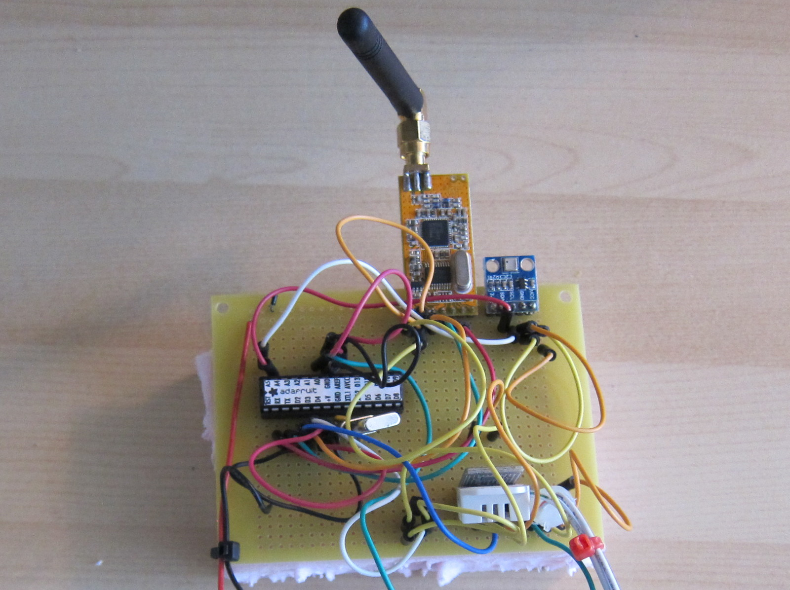 Weather Station Circuit Board