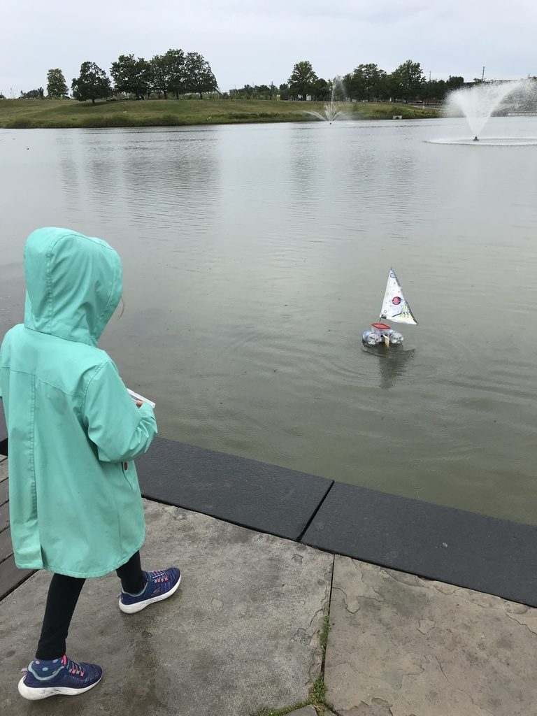 RC Sailboat Launch