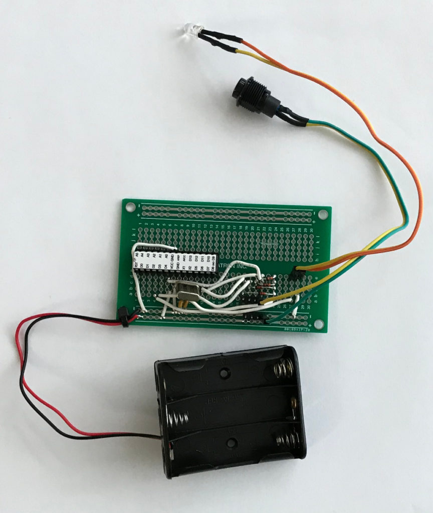 TV Remote Circuit Board